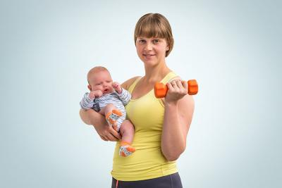 GETTING BACK IN SHAPE AFTER PREGNANCY